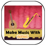 Scratch Music Icon
