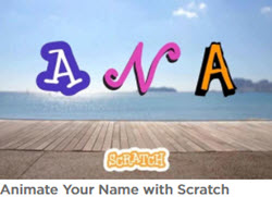 animate your name